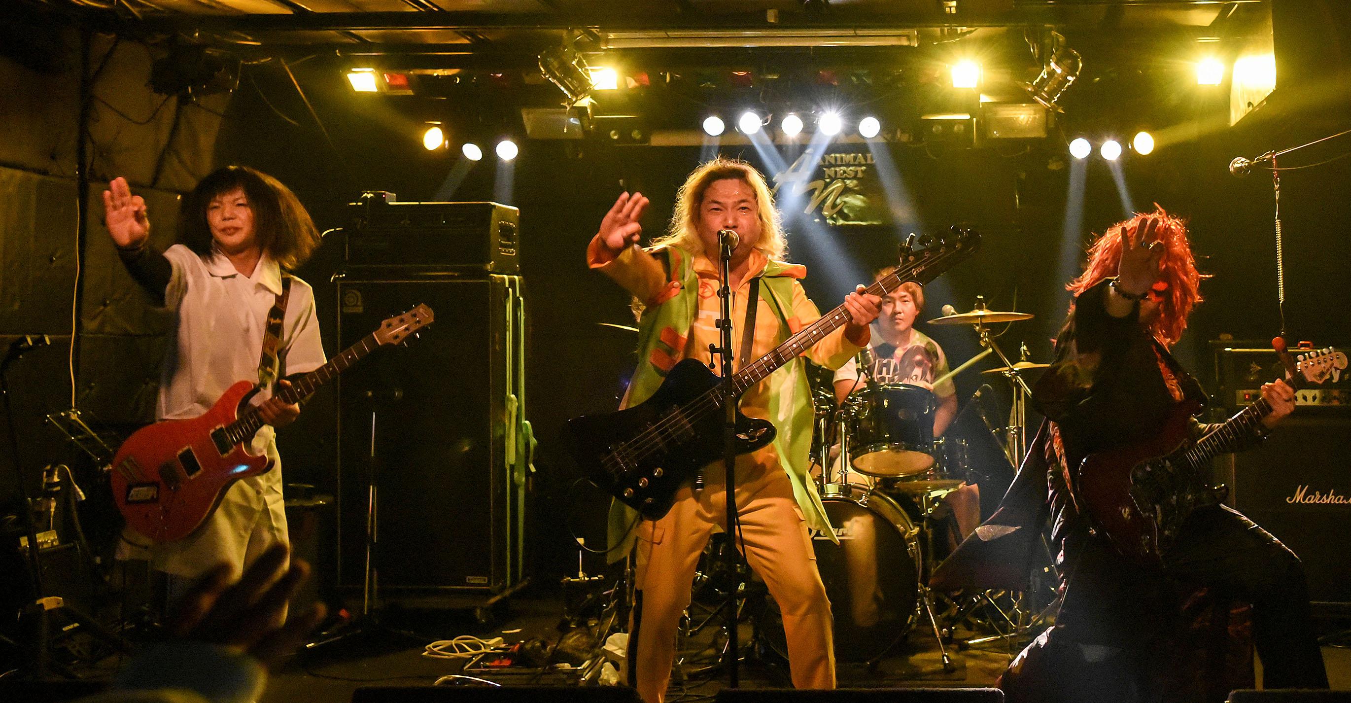 2ch系メタルバンド「めんへら」from 名古屋
